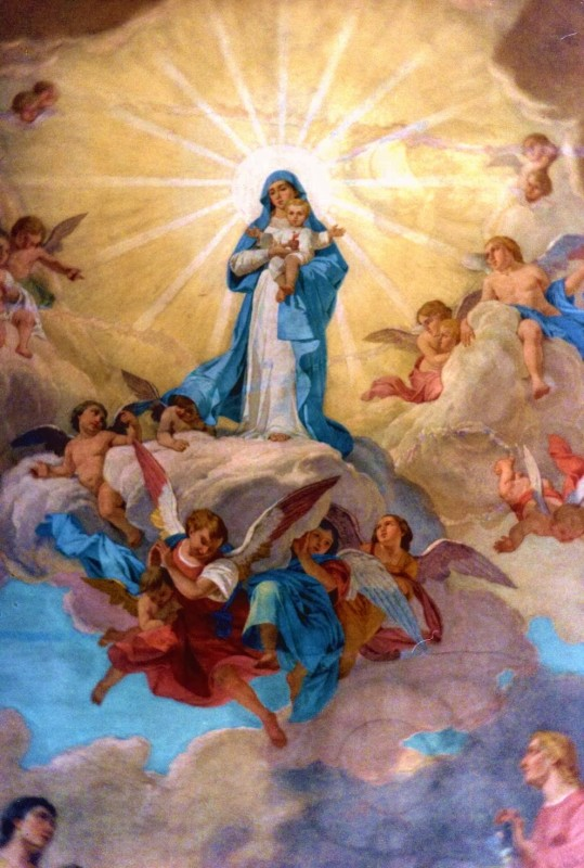 Virgem e Jesus 8.3.14