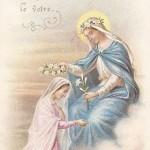 Položite v moje srce o Marija, katerega od cvetov, ki je krasilo vaše Srce.