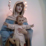 Marija z Jezusom  Porčinj