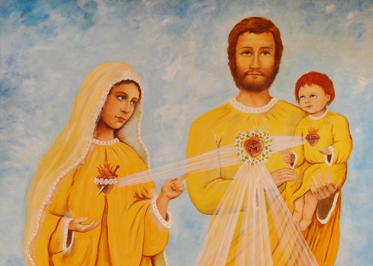Três Sagrados Corações