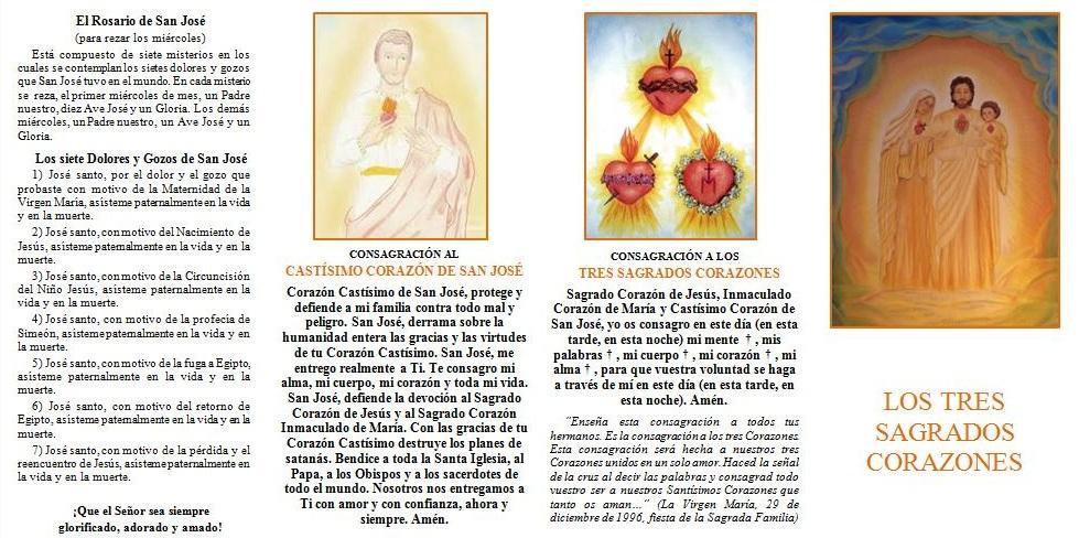 Los Tres Corazones Sagrados I A