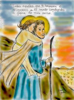 São José com Jesus colorido 2 (2)